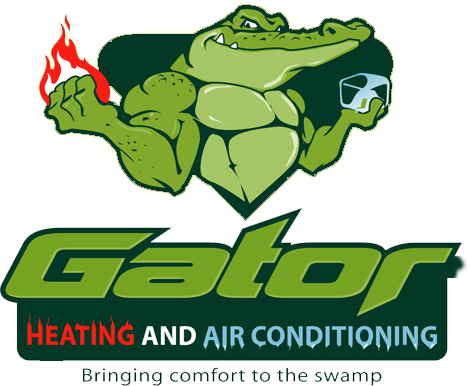 Gator heating and air conditioning service logo